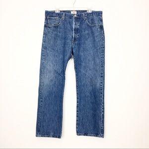 Levi's Original 501 Straight Leg Jeans 38X30